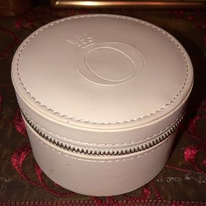 Pandora white limited edition compact jewelry case